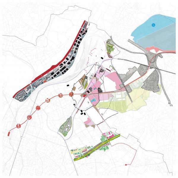 Scenario 0: het stadsproject Bordet en andere lopende dynamieken