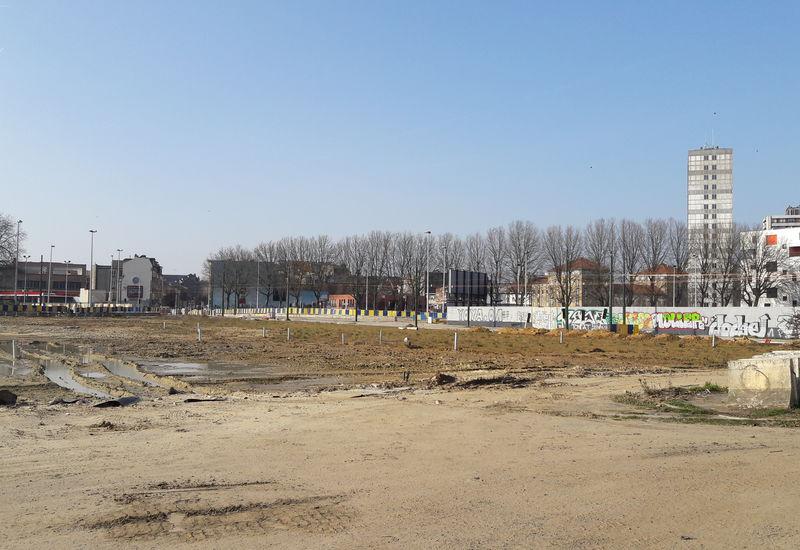 Travaux, Porte de Ninove