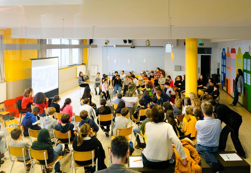 Forum de discussion - Basisschool Champagnat – Schaerbeek